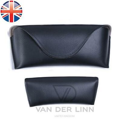 *UK Seller* Retro Leather Reading Glasses Sunglasses Carrying Case Travel Pouch