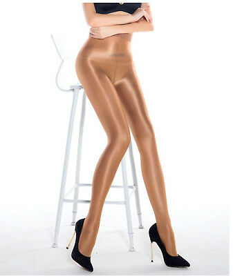 Women Lady Sexy High Gloss Oil Shine sleek Glossy Pantyhose Stockings Tights 70D