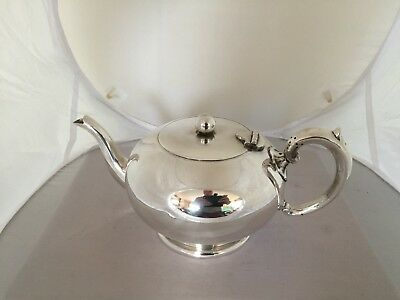Lovely Silver Plated Footed Tea Pot 2 Pint Capacity (Sptp 444)