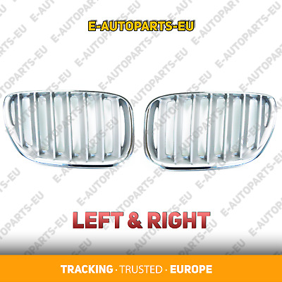 BMW X5 Series E53 2004 2005 2006 Front LEFT and RIGHT Grille Grill Kidney TITAN