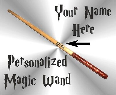 Harry Potter 10 inch Magic Wand Personalized Wizard Wand Hermione Shipping Free