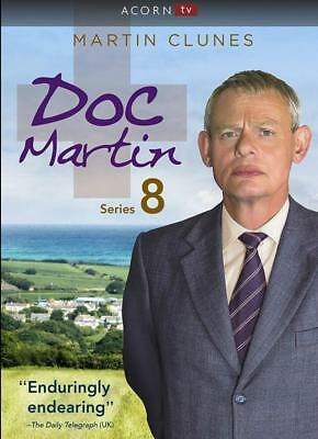 Doc Martin: The Complete Eighth Season 8 (DVD, 2017, 3-Disc Box Set)