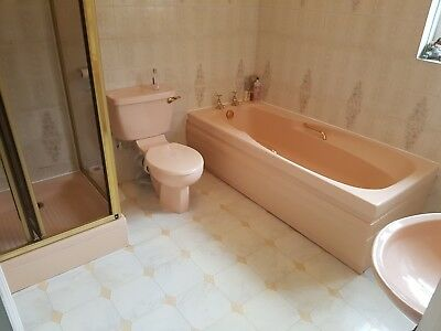 Style Peach Colour 0 99 Pic Uk, What Colour Goes With Peach Bathroom Suite