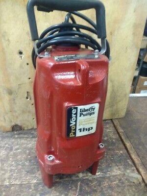 Liberty Pumps Single Phase 1 HP Grinder Pump