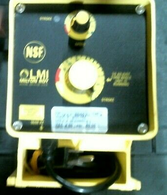 LMI Milton Roy B131-75S Electronically Controlled Metering Pump free shipping