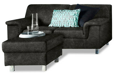 kino 2er sessel dani cinema sofa lederlook schwarz mit getr nkehalter eur 329 95 picclick de. Black Bedroom Furniture Sets. Home Design Ideas