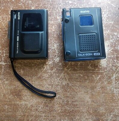 Sanyo Talk Book TRC-900C Dictaphone Voice Cassette Recorder Personal Dictation