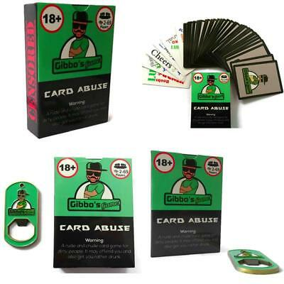 Card Abuse: Hilarious Adult Card Game Full Of Swear Words- Optional Drinking