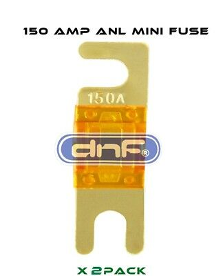 Dnf (2 Pcs) Anl Mini Fuse 150 Amp - Free Same Day Shipping!