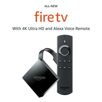 All-New Fire TV with 4K Ultra HD and Alexa Voice Remote (2017 Edition, Pendant)