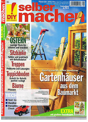 zeitschrift selber machen ausgabe nr 4 april 2014 eur 1 00 picclick de. Black Bedroom Furniture Sets. Home Design Ideas