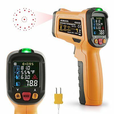 Infrared Thermometer Janisa AD6530D Digital Laser Non Contact Cooking IR