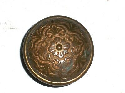 Antique Eastlake Door Knob Double Sided Heavy Knob
