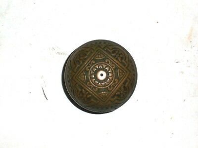 Antique Eastlake Door Knob Double Sided Heavy Knob 21/8""