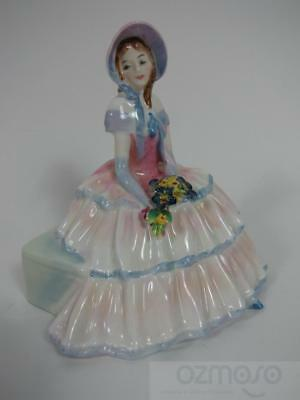 "Vintage Royal Doulton Bone China Figurine 6"" DAYDREAMS HN 1731 Retired"