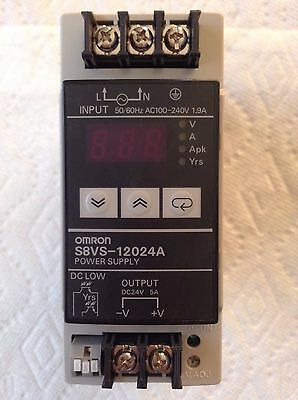 New in box Omron S8VS-12024A SWITCHING POWER SUPPLY One year warranty /&MA