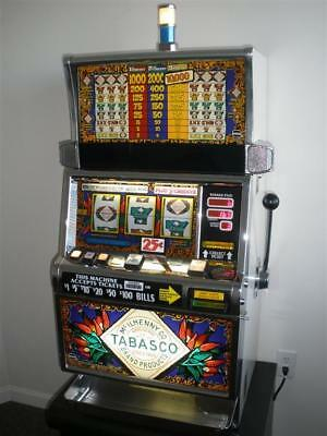 Igt Tabasco S2000 Slot Machine (Coinless - Ticket Printer)
