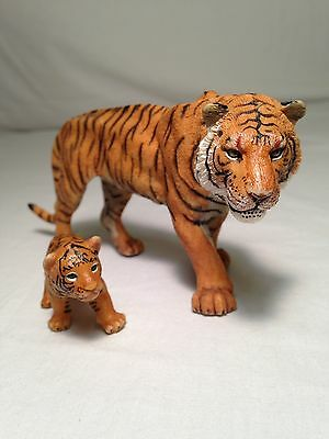 Papo Male Tiger & Cub Figures