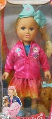 """My Life JoJo Siwa 18"""" Doll AND her Dog NEW in the Box"""