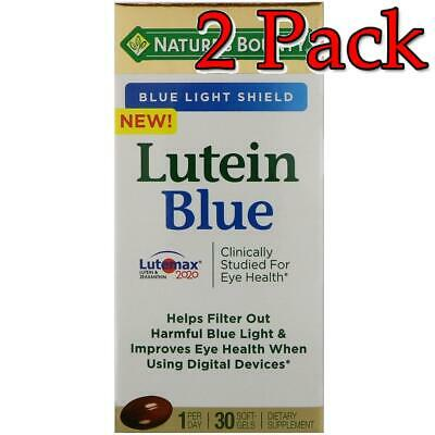 Nature's Bounty Lutein Blue Softgels, 30ct, 2 Pack 074312763922A1061