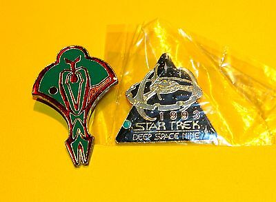 STAR TREK DEEP SPACE NINE AND CARDASSIAN PINS 1990s