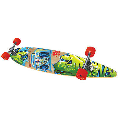 New 2018 Adrenalin Freestyle Cruiser Skateboard 40 Inch - Abec 7 Carbon Bearings
