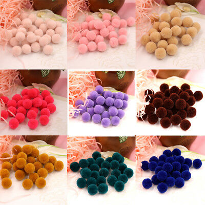 Handmade Felt balls 200pcs 1.5cm Balls Pompom Balls DIY Craft Decoration Sewing