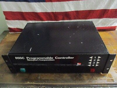 Newport Research Corporation Model 855C Programmable Controller_For Parts_As-Is~