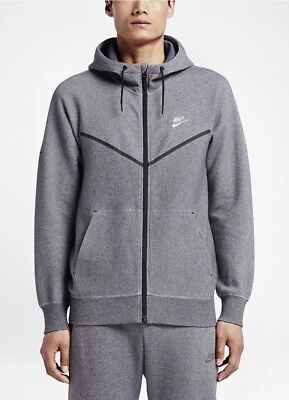 7f122b515efea NIKELAB X KIM JONES TECH FLEECE HOODIE MENS SZ M BLUE WINDRUNNER ...