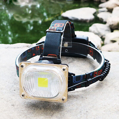 Super Bright 3000LM COB Outdoor LED Head Light Lamp Torch  Headlight Headlamp#D#