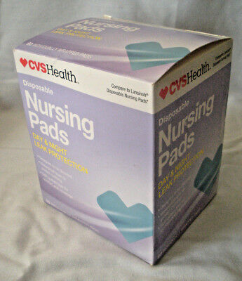 NEW!! CVS Health Disposable Nursing Breast Pads, 60 Count