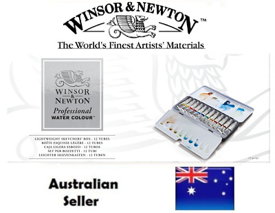 Winsor and Newton Professional Watercolours - Lightweight Sketchers' Box - Tubes