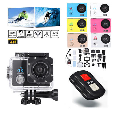SJ9000 4K 1080P Action Sport Camera Waterproof WiFi DV DVR Cam Camcorder Full HD