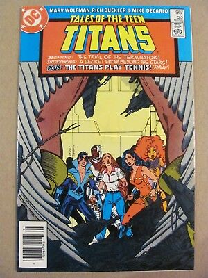 Tales of the Teen Titans #53 DC Canadian Newsstand $0.75 Price Variant 9.2 NM-