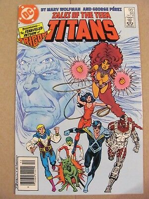 Tales of the Teen Titans #60 DC Canadian Newsstand $0.75 Price Variant 9.2 NM-
