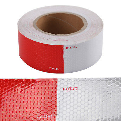 "DOT-C2 Conspicuity Tape 2"" x 150FT Roll Class 2 Truck Trailer Camper Safety Nice"