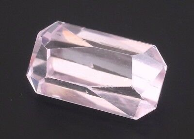 9.62ct Natural Kunzite 16x9mm Loose VS Gemstone Octagon light pink Afghanistan