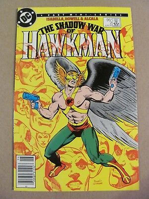 Shadow of Hawkman #2 DC Canadian Newsstand $0.95 Price Variant 9.2 Near Mint-