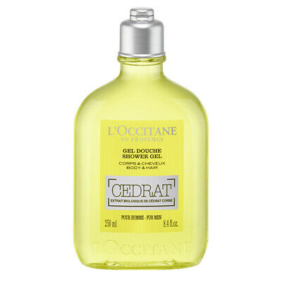 NEW L'Occitane Cedrat Shower Gel 250ml