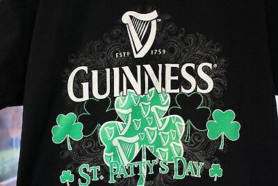 5749a7144 Guinness St. Paddy's Day Harp St. Patrick's Day T-Shirt Men's Size Large