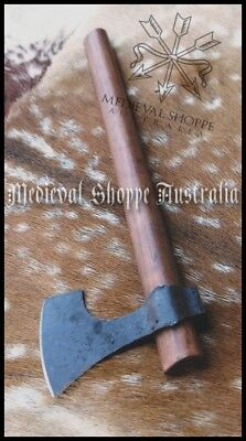Early Medieval War Hatchet. Functional Sharp Solid Axe - SEE PRODUCT VIDEOS!