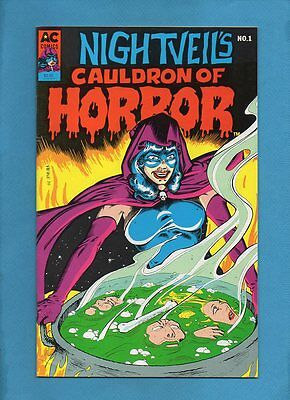 Nightveil's Cauldron of Horror #1 1989 AC Comics Femforce Spinoff