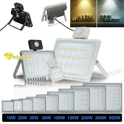 LED Flood Light 300W 200W 100W 50W 30W 20W 10W PIR Sensor Security Flood Lights