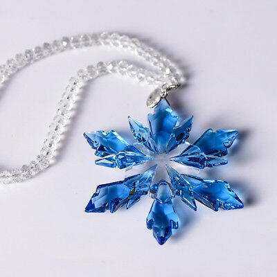 2018 Car Snowflake Crystal Pendant Snowflake Jewelry Ornaments Decoration