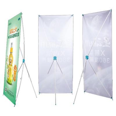 X Banner Stand Tripod Trade Show Display Sign Advertising Rack 60*160 cm HOT