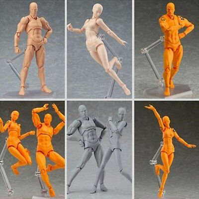 New Figma Archetype Next He/She PVC Action Figure 135mm Art Anime Toys 15th uk