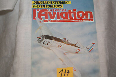 le fana de l'aviation-n°177-Blackbird 4°-Douglas DC2 (fin)-8/84