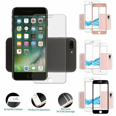 9H Temper 3D Glass Screen Protector Full Screen Cover Film For iphone 7/8PLUS RP