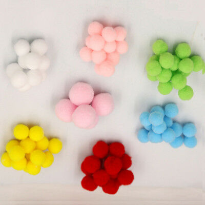 NEW Handmade Felt balls 40pcs 2cm Balls Pompom Balls DIY Craft Decoration Sewing