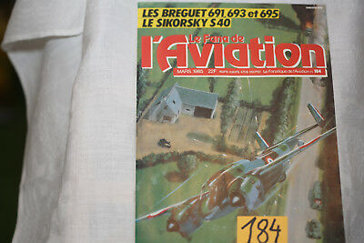 le fana de l'aviation-n°184-le Hawker Typhoon 2°-le Douglas DC3 4°-3/85